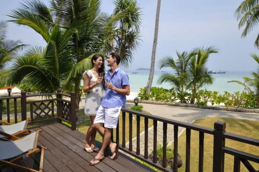 Bungalovy Holiday Inn Resort Phi Phi Island (fotografie 12)