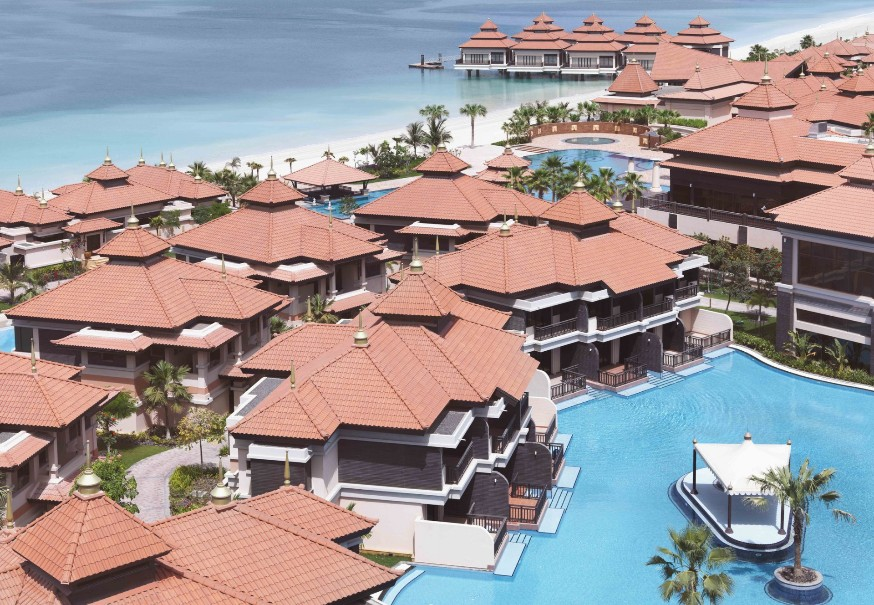 Hotel a vilky Anantara The Palm Dubai Resort (fotografie 4)