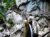Medvědí soutěska - Žebříky, lávky a můstky nad vodopády hors Dle programu