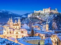 Salcburk - Město adventu a termální wellness pod alpami Dle programu