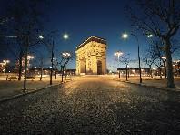 Kouzelný Silvestr v Paříži - Romantika ve městě lásky - autobusem