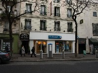 Hotel Buttes Chaumont - letecky