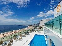 Hotel Arena Copacabana Snídaně last minute