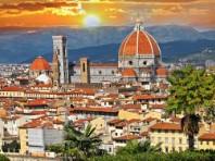 Florencie letecky - letecky
