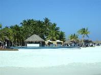 Bungalovy Velassaru Maldives - letecky