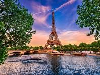 Magická Paříž s návštěvou Eiffelovy věže  - autobusem