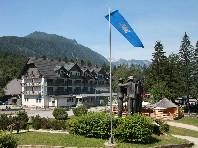 Hotel Jezero Bohinj - v lednu