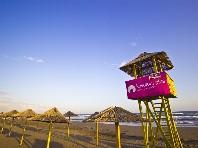 Hotel Velká Pláž - na pláži
