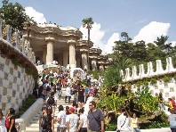 Barcelona – Gaudího Sagrada Familia, Parc Guell, L - 2020