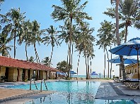 Hotel Amagi Beach Marawila - na pláži