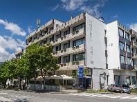 Hotel Krim - v lednu