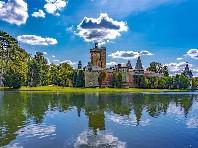 Kouzelný zámek Franzensburg, čokoládovna a město Baden - autobusem