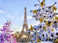 Advent v Paříži - v prosinci