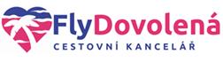 Cestovní kancelář FlyDovolená - logo
