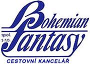 Cestovní kancelář Bohemian Fantasy - logo