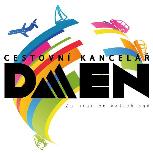 Cestovní kancelář Daen - logo