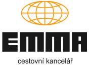 Cestovní kancelář Emma - logo