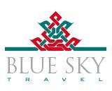 Cestovní kancelář Blue Sky - logo