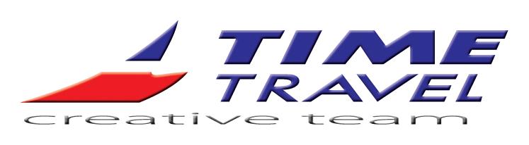 Cestovní kancelář Time Travel - logo