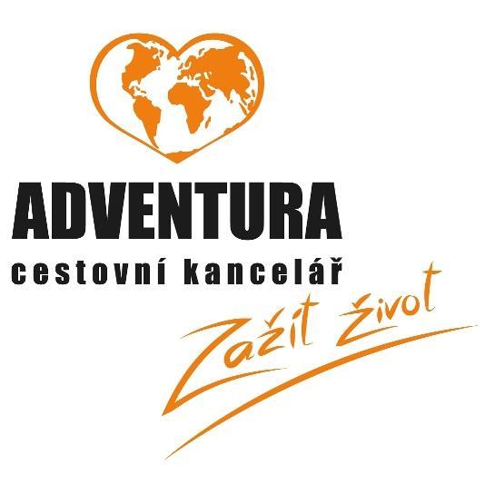 Cestovní kancelář Adventura - logo