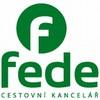 Cestovní kancelář Fede - logo