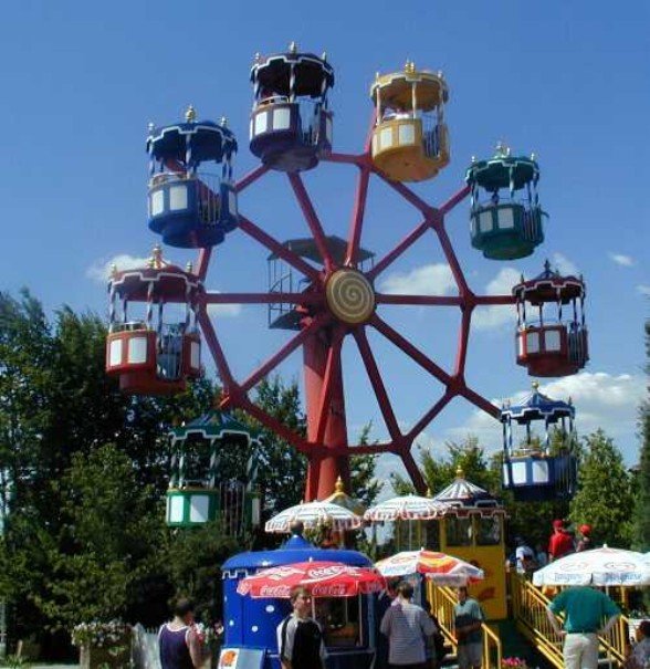 Zábavní park Churpfalzpark (fotografie 1)