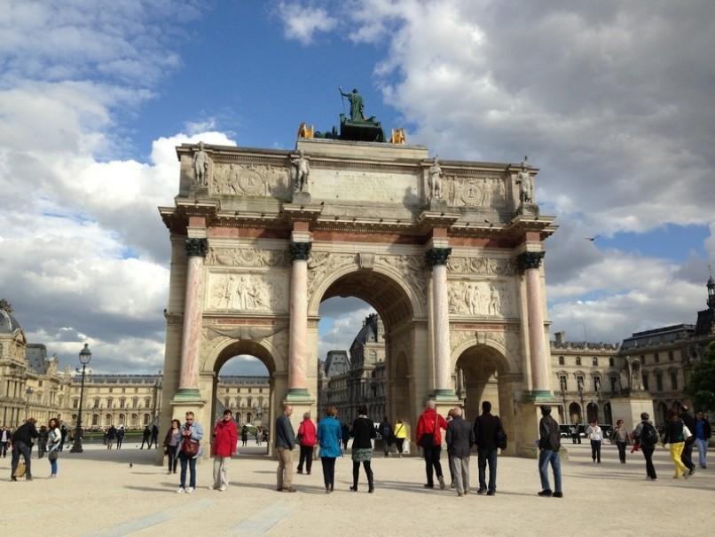 Paříž a Versailles od A do Z – hotely Campanille a Premiere (fotografie 110)