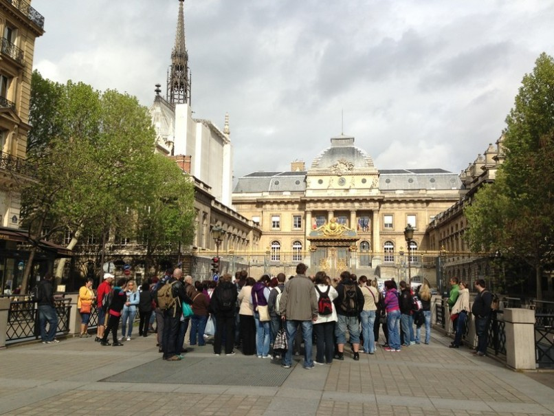 Paříž a Versailles od A do Z – hotely Campanille a Premiere (fotografie 77)