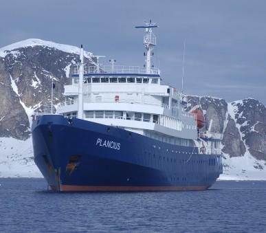 Antarktický poloostrov - Basecamp Plancius