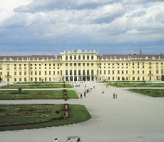 Vídeň a zámek Schönbrunn