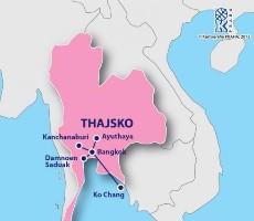 Okruh Středním Thajskem