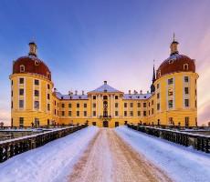 Popelčin zámek Moritzburg a advent v pevnosti Königstein
