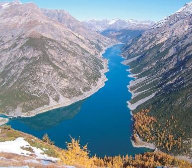 Švýcarské Alpy, italské Alpy a termální lázně Bormio