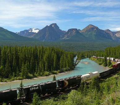 Národní parky západní Kanady a Severozápadního USA