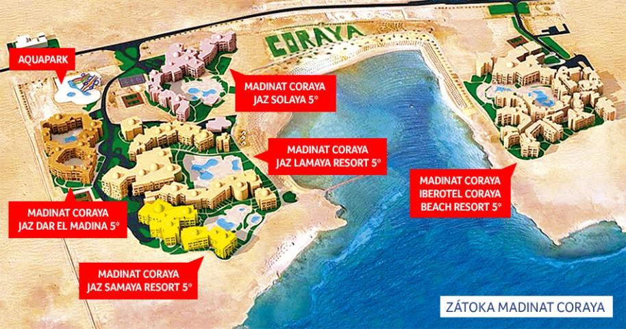 Hotel Madinat Coraya Jaz Solaya Resort (fotografie 20)