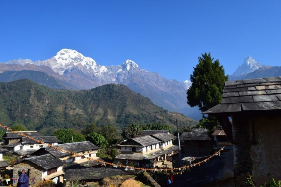 Nepál a trek v Himalájích (expedice) (fotografie 10)