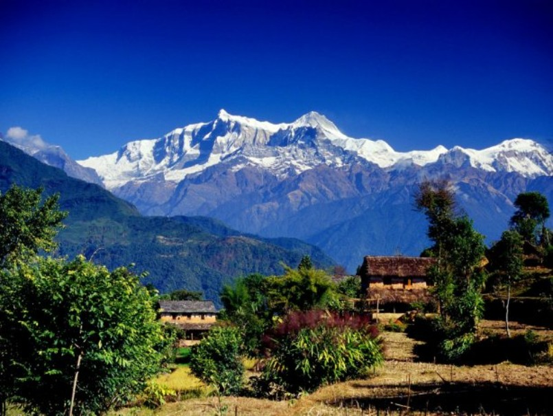 Nepál a trek v Himalájích (expedice) (fotografie 2)