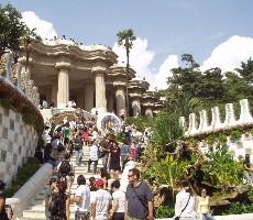 Barcelona – Gaudího Sagrada Familia, Parc Guell, La Pedrera – Casa Milá, památky Unesco