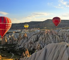 Krásy Kappadokie a turecké riviéry - akce senior