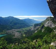 Lago di Garda - Dvoutisícové vápencové vrcholy nad největším jezerem Itálie
