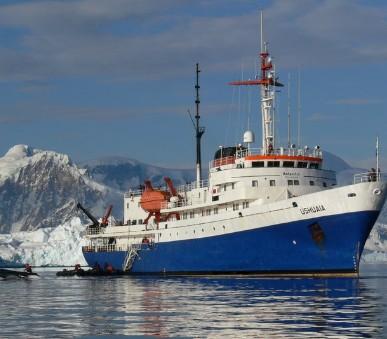 Dobytí jižního polárního kruhu