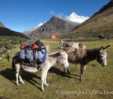 Treking pod Huascaránem a severní Peru