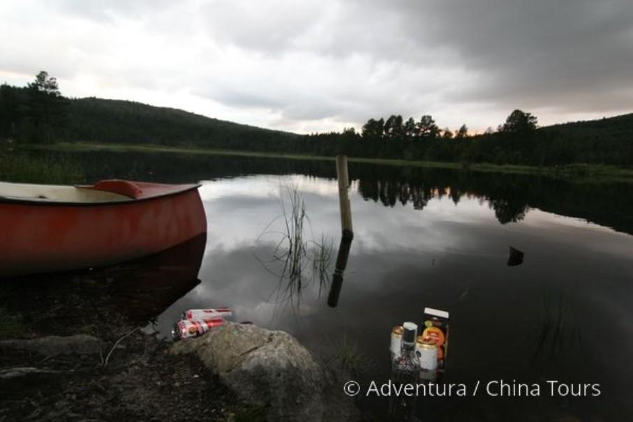 Letní řeky Skandinávie (fotografie 5)
