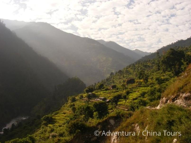 Treking okolo Manaslu (fotografie 11)