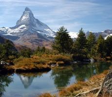 Švýcarsko - Hory a lázně