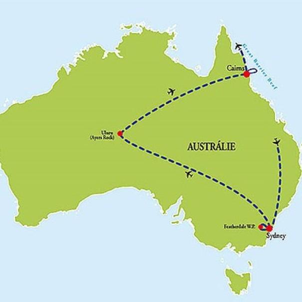 Austrálie - Zlatý trojúhelník (fotografie 6)