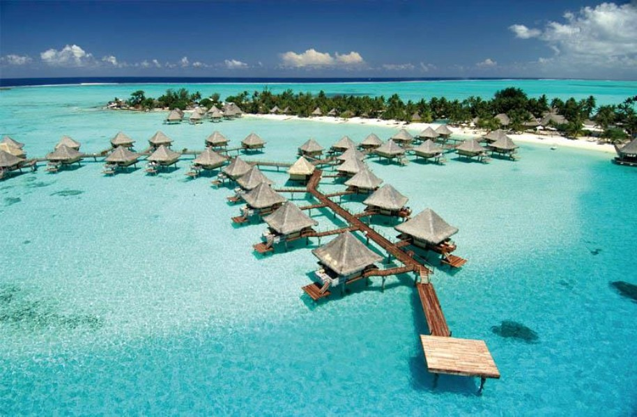 Intercontinental Bora Bora Le Moana Resort (fotografie 1)