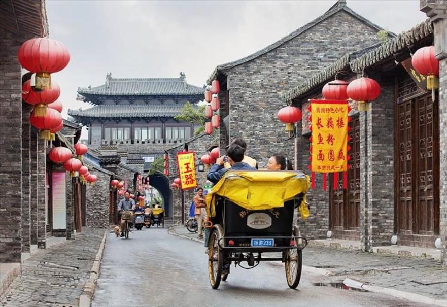 Čínské metropole rychlovlakem (fotografie 5)