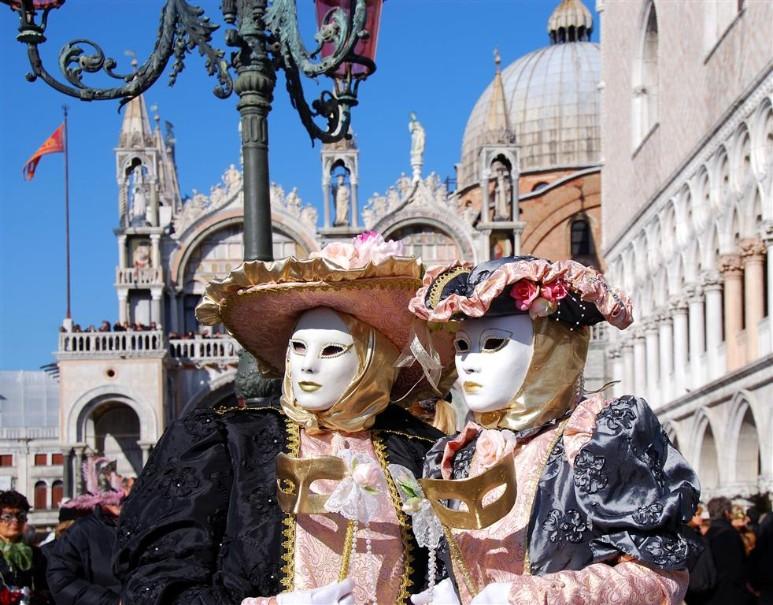 Karneval v Benátkách (fotografie 3)