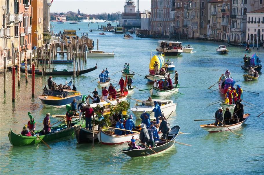 Karneval v Benátkách (fotografie 5)